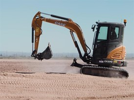CASE C Series Mini Excavator Walkaround