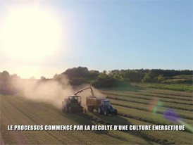 French - New Holland Agriculture Methane Powered Concept Tractor Show Reel