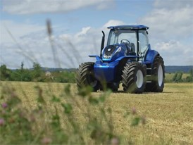 Portuguese - New Holland Agriculture Methane Powered Concept Tractor Show Reel