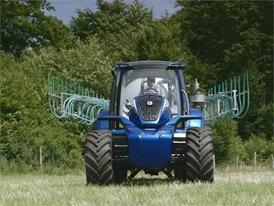 Russian - New Holland Agriculture Methane Powered Concept Tractor Show Reel