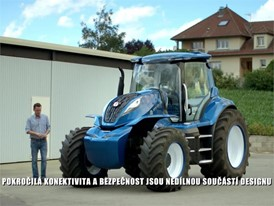 Czech - New Holland Agriculture Methane Powered Concept Tractor Show Reel