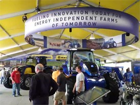 Farm Progress 2017 Exterior and Interior New Holland Stand