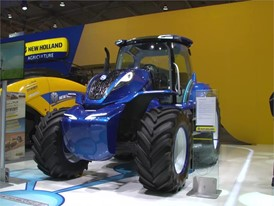 New Holland Agriculture T6 Methane Powered Concept