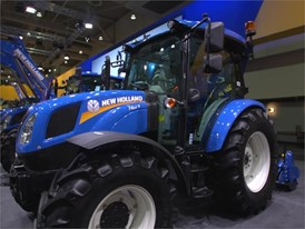 New Holland T4S RVM Rotary Tiller