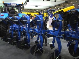New Holland PXV Plough