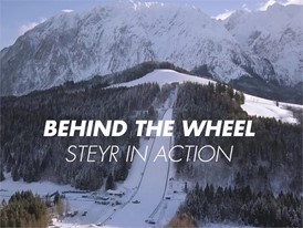 Behind the Wheel: STEYR takes to the slopes in World Cup ski jumping
