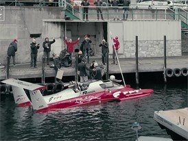 World Diesel powerboat speed record