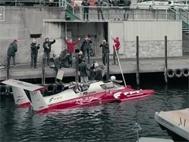 World Diesel powerboat speed record