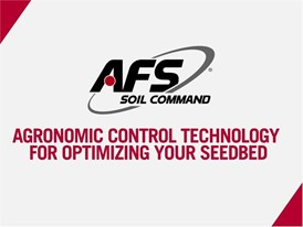 AFS Soil Command - Agronomic Control Technology for Optimizing Your Seedbed