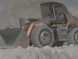 Rushes - CASE Methane Powered Concept Wheel Loader - ProjectTETRA - Beauty Shots