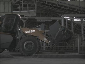 Rushes - CASE Methane Powered Concept Wheel Loader - ProjectTETRA - Waste Handling
