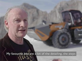 Interview with David Wilkie, Design Director CNH Industrial on the CASE Methane Powered Concept Wheel Loader