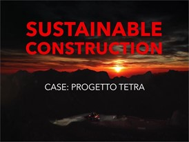 CASE Methane Powered Concept Wheel Loader - ProjectTETRA - Show Reel - Italian