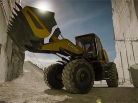 CASE ProjectTETRA methane powered concept wheel loader Informational Video