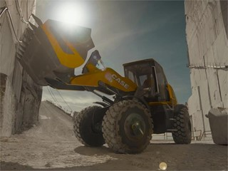 CASE Construction Equipment unveils its methane-powered wheel loader concept – ProjectTETRA – and its vision for the future of sustainable construction