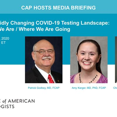CAP Hosts Dec. 9, 2020 Media Briefing
