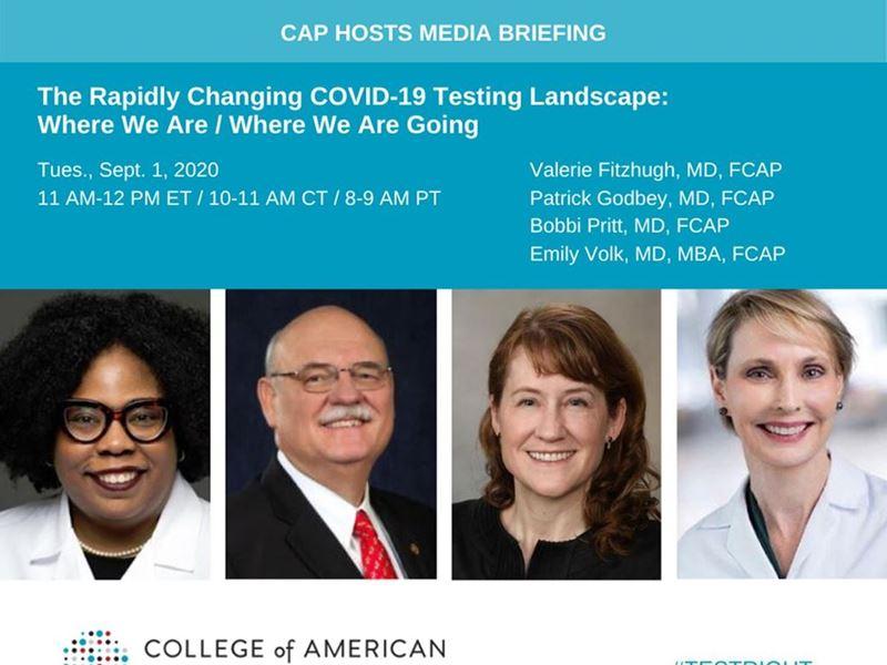 CAP Hosts Sept. 1, 2020 Media Briefing