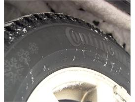 Winter Tires: Sidewall Inscription