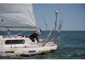 Matt Rutherford Nears Chesapeake