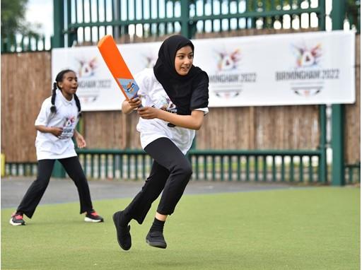 Girls from Wyndcliffe Primary School, Birmingham