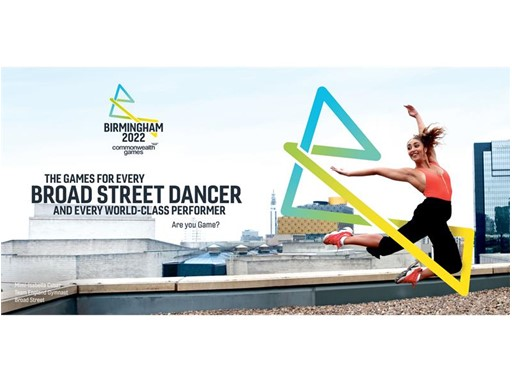Birmingham 2022 - Mimi-Isabella Cesar Team England Gymnast, Broad Street