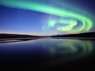Pre-Alert: The Northern Lights…Experienced from 36,000 Feet for the First Time in Canada