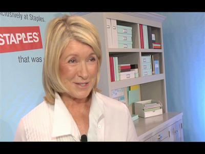 The Lifestyle Icon, Martha Stewart, Launches New Line of Home Office and Home Organization Products