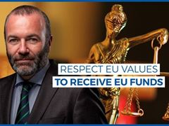 EU cash must be linked to EU values