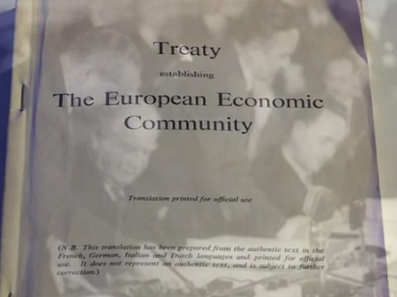 EPP TV Newsroom : The 60th anniversary of the <b>Treaty of Rome</b>