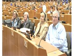 Open Doors at European Parliament; Ivo Belet answers questions on financial crisis, internet freedom, institutional issues and active ageing