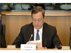 Draghi Firm on Need for More Progress Towards EU Economic and Political Union