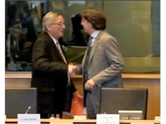 Juncker sees difficult 2013, backs more flexible European Stability Mechanism