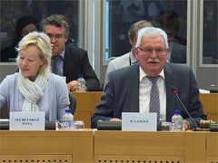 Panama Papers EP inquiry committee elects Werner Langen as Chairman and starts work