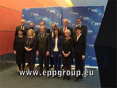EPP Group re-elects Manfred Weber as Chairman and 10 Vice-Chairs, half of them women