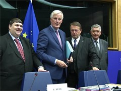 Post-Brexit talks - future EU-UK ties - possibly in 2018, says Barnier