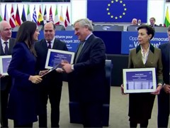 Celebrating 30 years of the Sakharov Prize