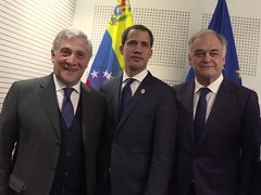 MEPs support Juan Guaidó in the European Parliament
