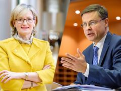 McGuinness and Dombrovskis: people come first in leading EU finance and trade
