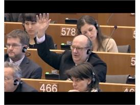 Round up of European parliament plenary session