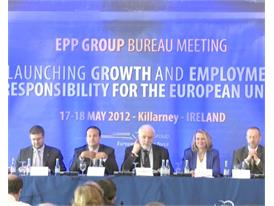 Re-launching Growth and Employment: EPP Group Bureau Meeting