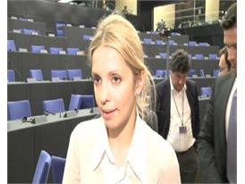 Timoshenko daughter backs European Parliament call for political boycott of Euro 2012, says economic sanctions eventual