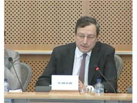 Draghi: ECB ¨will continue to lend to solvent banks¨