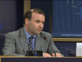 EPP Group Chair Weber: Strong Support remains for Juncker for Commission President; avoid crisis by staying on schedule