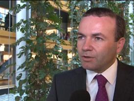 "EPP Group´s Weber calls Association Agreement legally binding ""important first step"""