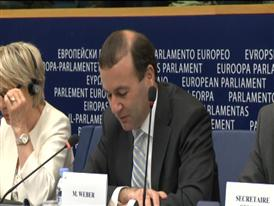 Europe at the cross roads in 2015, says EPP Group Chairman Manfred Weber