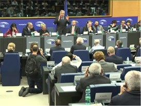 Tajani for EP President, Visa Emergency Brake, Energy, Railways