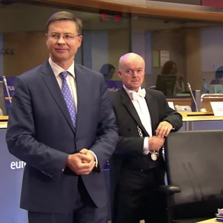 EP Commissioner-designate Hearings: Dombrovskis a steady hand for EU economy
