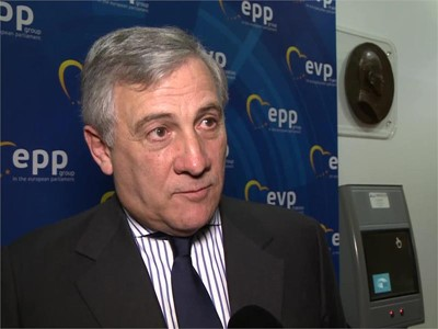Antonio Tajani elected as EPP Group nominee for Parliament President