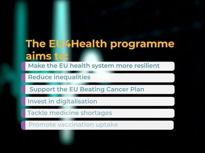 It's time to strengthen EU health systems