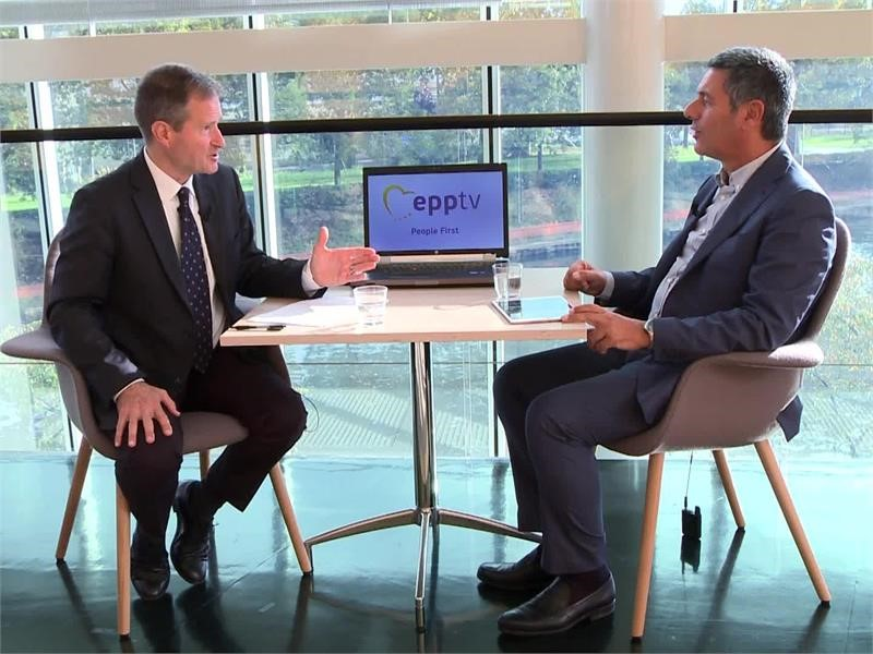 EPP TV Newsroom : Post-disaster rebuilding with EU Solidarity Fund